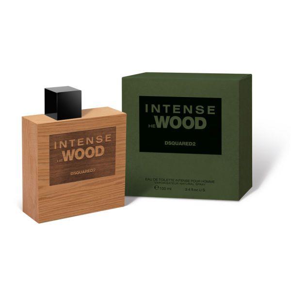 Dsquared2 He Wood Intense! Το χαρακτηριστικό άρωμα των αδελφών Dean & Dan, στην πιο δυνατή του έκδοση! Απόκτησε τα 100ml στα 41.50€ (από 103€).  Το Intense He Wood από τον οίκο DSQUARED² είναι ένα Αρωματικό Ξυλώδες άρωμα για άνδρες και κυκλοφόρησε το έτος 2014. Οι νότες κορυφής είναι Βιολέτα, φύλλο βιολέτας, Υδάτινες νότες και θυμίαμα, οι μεσαίες νότες είναι Βέτιβερ, Κέδρος, ξύλο γκουαϊακ και σανδαλόξυλο, οι νότες της βάσης είναι Μόσχος, Αμπερι και έλατο.
