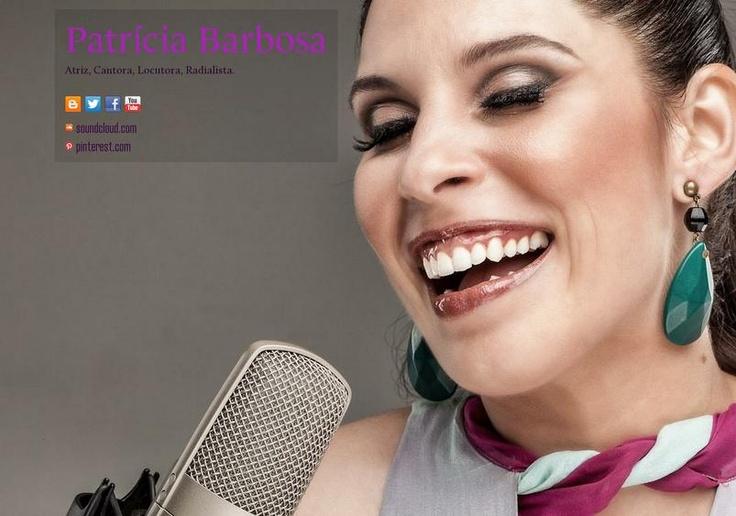 All about me. Tudo sobre Patrícia Barbosa.