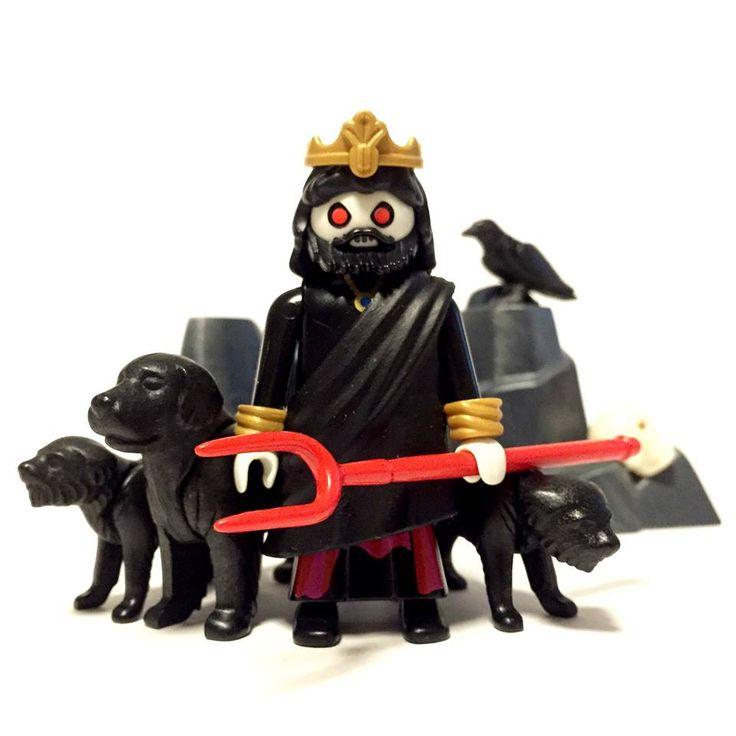 Hades y el can Cerbero