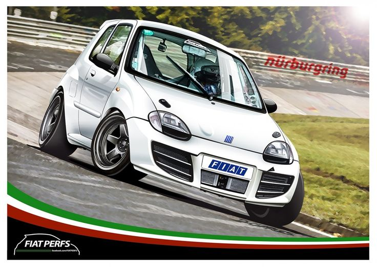 Fiat Seicento Sporting Damien Charles Draw To Drive
