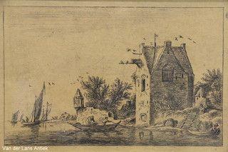 Ets naar Anthonie Waterloo 26219 bij Van der Lans Antiek