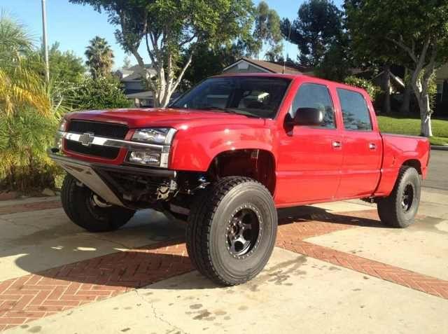 Lifted Chevy Trucks For Sale >> 2005 Chevy Silverado PreRunner | Truck bumper | Pinterest