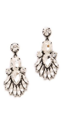 Noir Jewelry Nightful Crystal Drop Earrings. love!