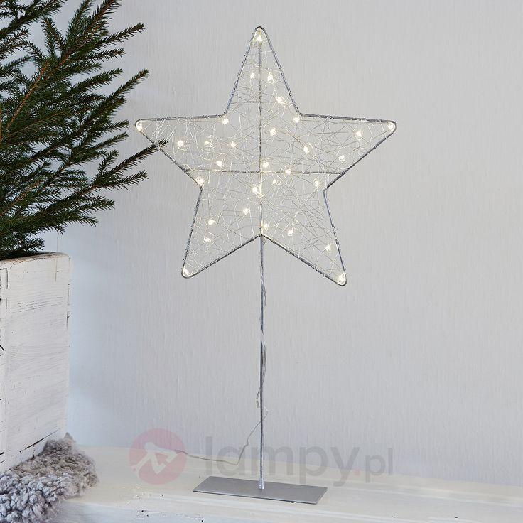 Gwiazda dekoracyjna LED RONNY o wys. 60 cm 6507433