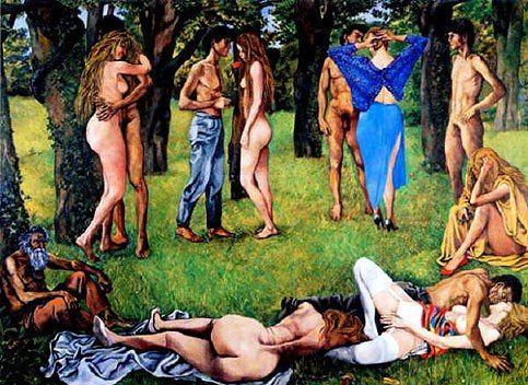 Renato Guttuso. Love Wood