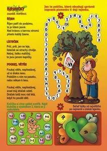Velikosti listů+básně