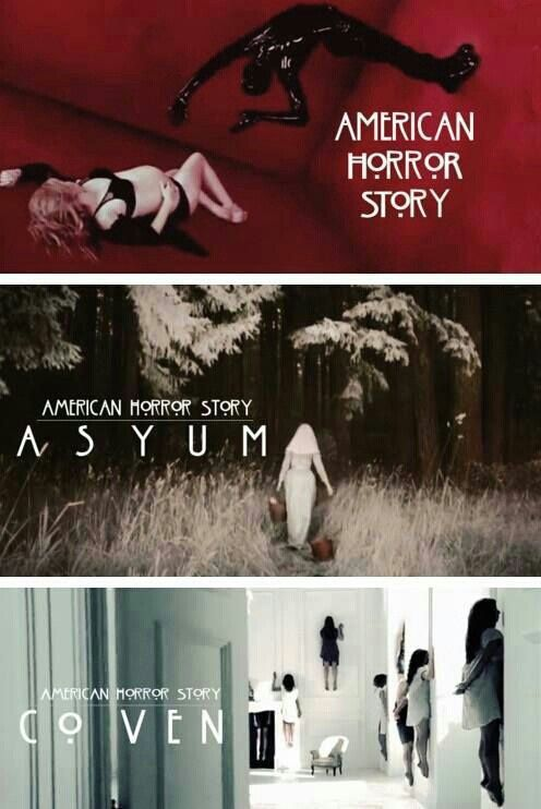 all three seasons in one- american horror story