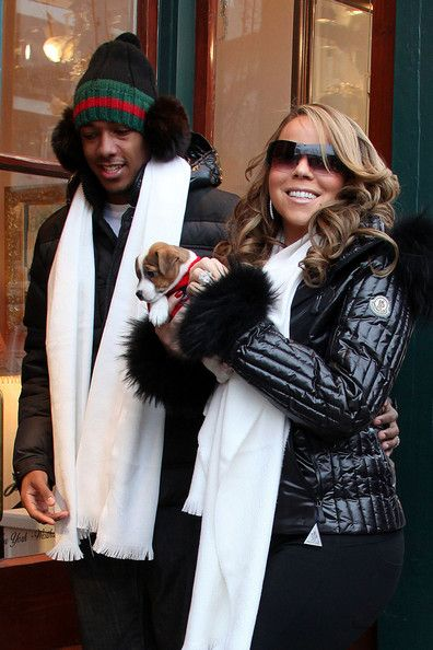 Mariah Carey Photos Photos - FILE PHOTO DATED: Tuesday December 22, 2009. FILE PHOTO: BREAKING NEWS Husband to Mariah Carey, Nick Cannon has been rushed to hospital after suffering kidney failure. Bizarrely, Mariah Carey has posted a photo on Twitter of herself posing beside her unwell husband in his hospital bed in Aspen, Colorado. ORIGINAL CAPTION  Mariah Carey and husband Nick Cannon hit downtown Aspen for some shopping. They posed for photographs with their little puppy before heading…