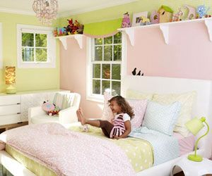 Modern Design - Parents.com home editor, Susan Leaderman, knew just what she wanted when she redecorated her 3-year-old daughter Lilah's bedroom: mod white furniture and a fresh take on the classic pink theme (translation: nothing frilly or cutesy). The result is a comfy space that Lilah adores -- and one that will grow with her as she gets older.