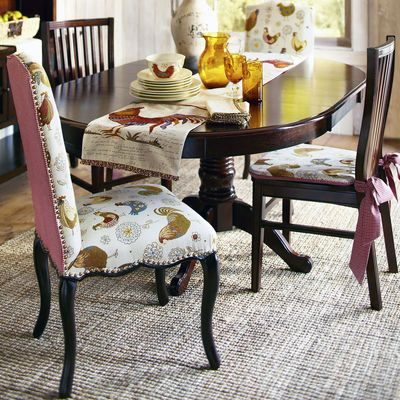 Claudine Dining Chair Rooster Dinnerware Tabletop