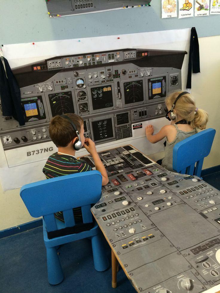 De cockpit!