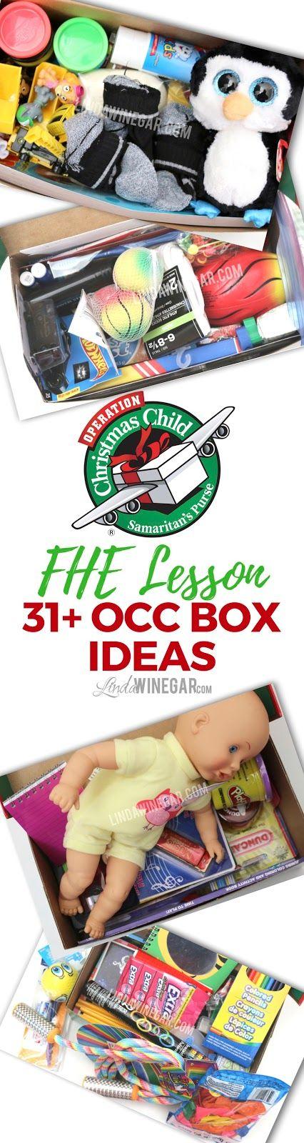 FHE: Operation Christmas Child w/ 31+ Box Ideas! | Linda Winegar