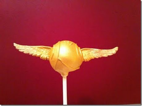 If only I could make these!    Harry Potter Cake Pops