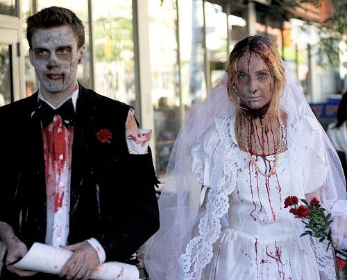 Zombie Bride share! #zombies