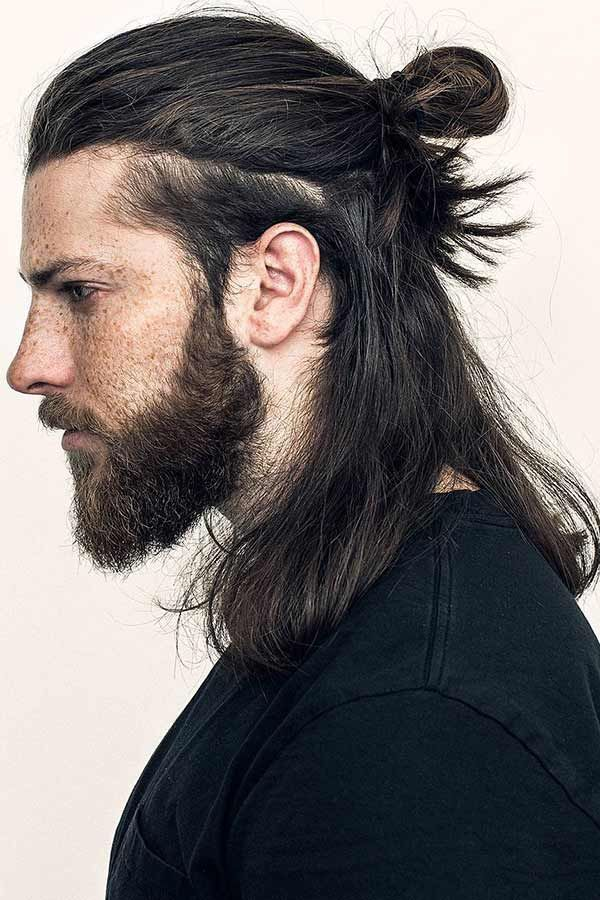 Best Men S Long Hairstyle Top Knot Topknot Menslonghairstyles Beautiful Long Hair Is The Real T Men S Long Hairstyles Long Hair Styles Men Long Hair Styles