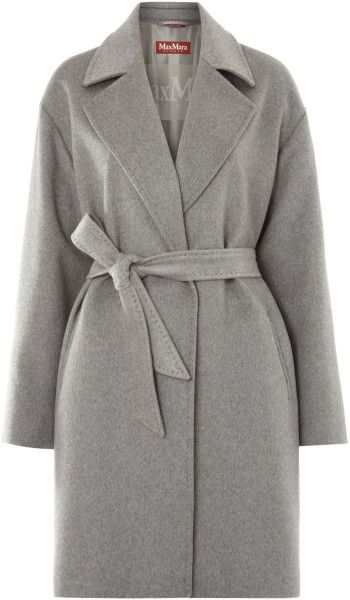 My Max Mara Grey Cashmere coat 2011