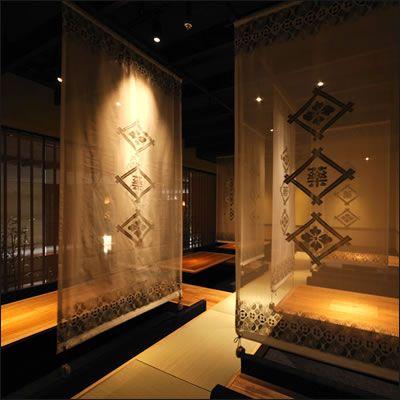 Decor by Kimono Designer Jotaro Saito