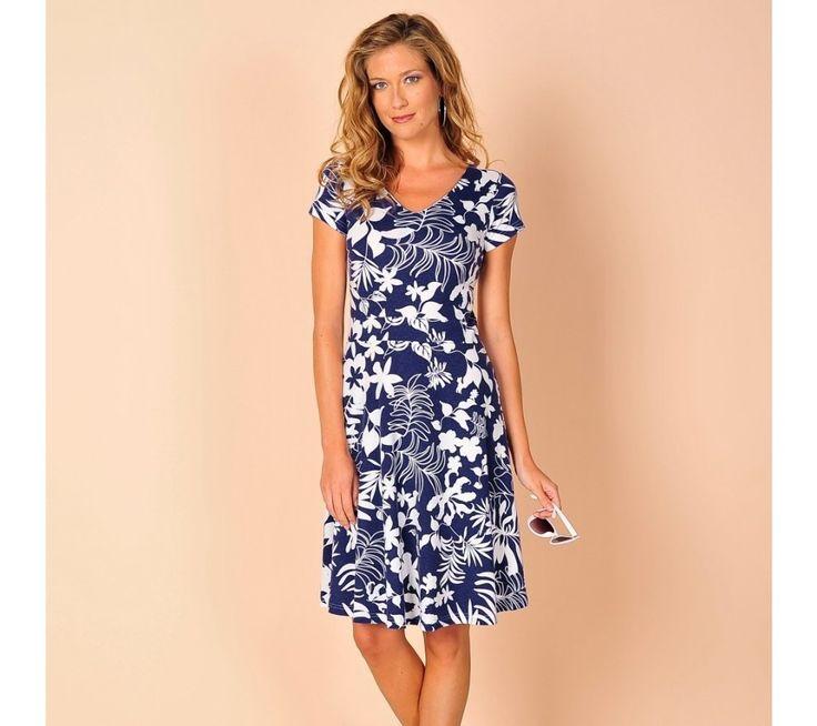 Strečové šaty s kvetmi | blancheporte.sk #blancheporte #blancheporteSK #blancheporte_sk #letnakolekcia