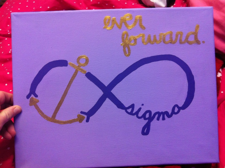 Sigma sigma sigma- this would be a great tattoo- in white ink!