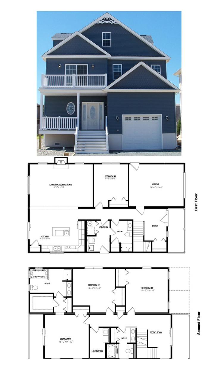 46 best images about modular homes on pinterest model for Ocean house plans