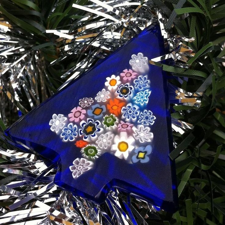 Time to decorate the Christmas tree! - Set of 18 Xmas tree ornaments #yourmurano #glassart