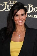 "Angie Harmon attends the premiere of Disney's ""The Jungle Book"" http://celebs-life.com/angie-harmon-attends-premiere-disneys-jungle-book/  #angieharmon"