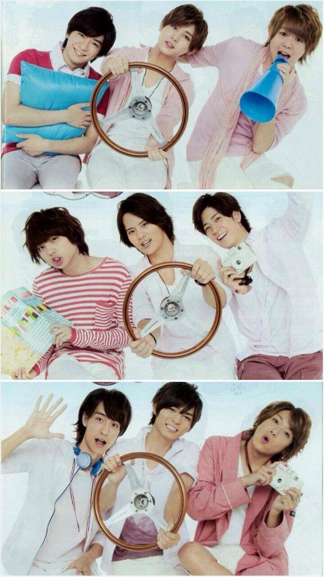 Hey! Say! Jump! :v