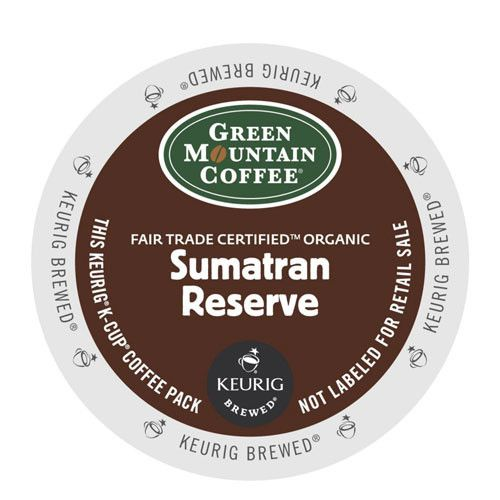 Green Mountain Coffee® Sumatran Reserve Extra Bold Coffee K-Cup® Pod