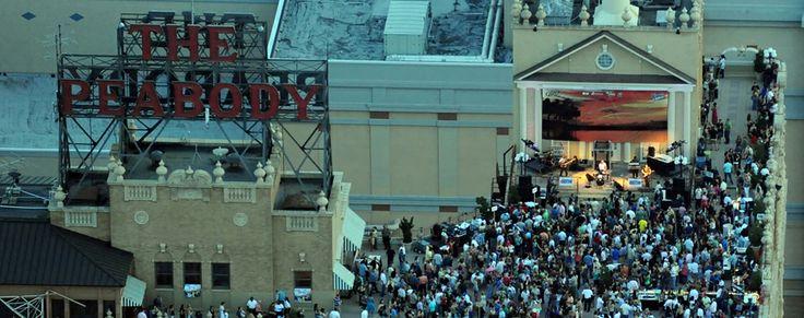 The Peabody Memphis Rooftop Parties | Memphis Event Venues | Downtown Memphis Hotel