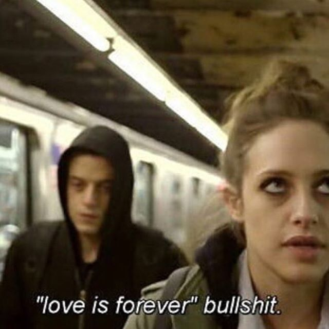 Mr robot quote                                                                                                                                                                                 More