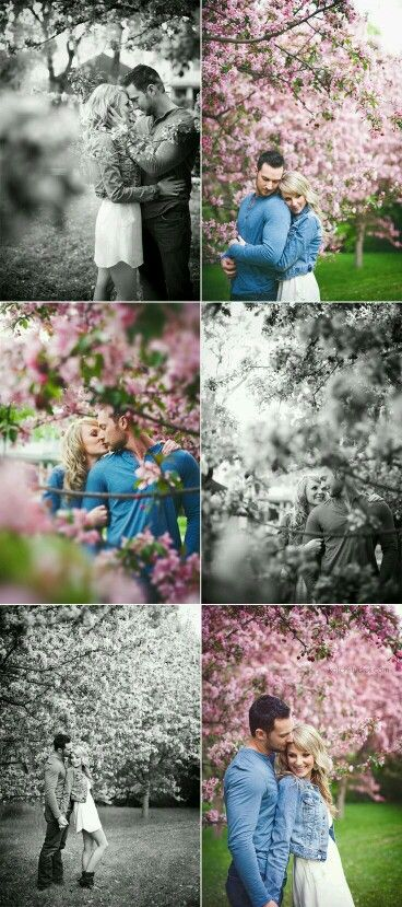 Spring Engagement Photoshoot