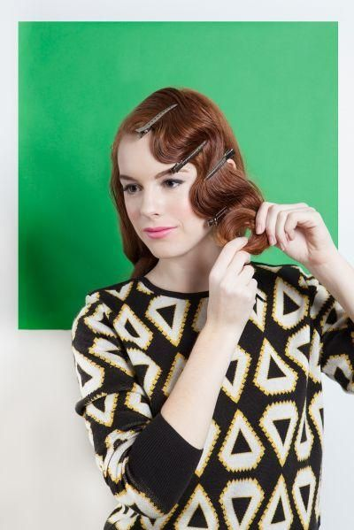 For when/if my hair ever gets long. Learn how to do these 4 awesome vintage inspired 'dos for long hair!