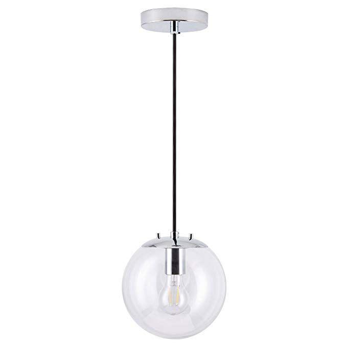 8 60 Sferra Led Industrial Kitchen Pendant Light Brushed