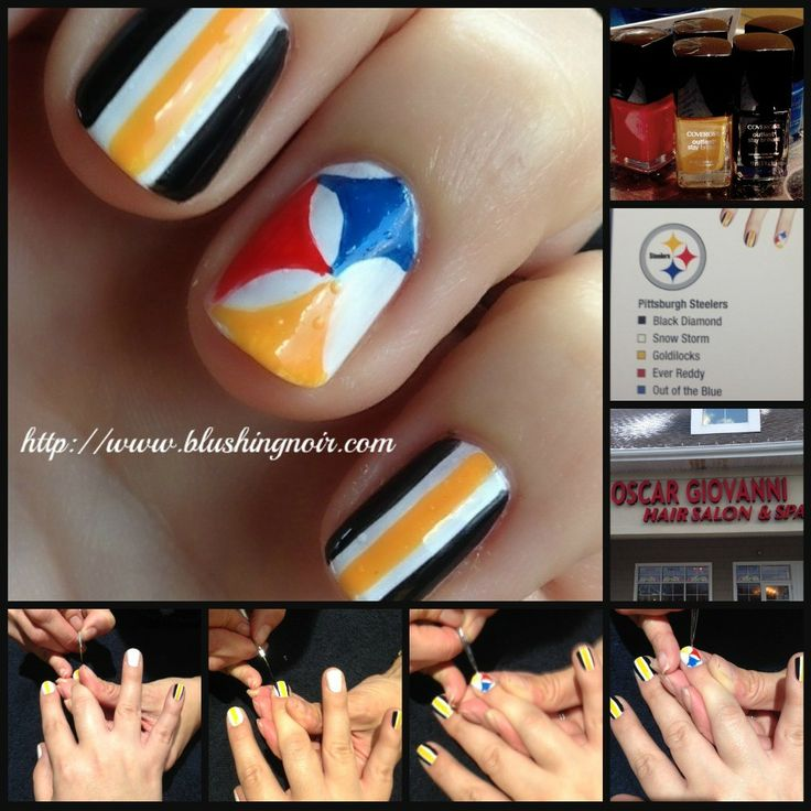 #NAILGATING with @Melea Krause Fisher Gibbs & @All Lacquered Up  at the Steelers/Browns Game Recap & Swatches!