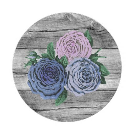 Rustic Country Roses Barn Wood Wedding Paper Plate  sc 1 st  Pinterest & 437 best Paper Plates images on Pinterest | Lyrics Text messages ...