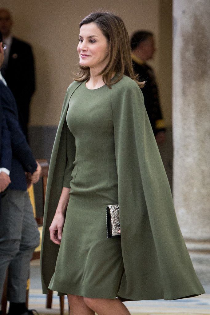 Queen Letizia of Spain Photos - Queen Letizia of Spain attends the National Sports Awards ceremony at El Pardo Palace on February 19, 2018 in Madrid, Spain. - Spanish Royals Attend The National Sports Awards Ceremony