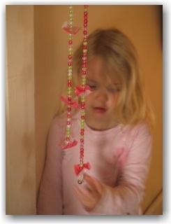 Fairy bead string