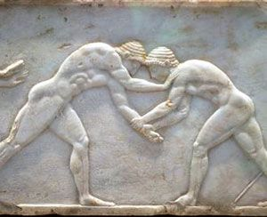 Olympic wrestling in the nude.: 510 B C, Ancient Greek, Ancient Sports, Ancient Romans, Olympics Wrestling, Greek Olympics, Games Wrestling, Ancient Greece, Greek Geek
