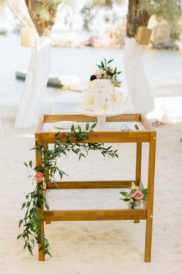 Chic Intimate Destination Wedding at the Romantic Beach