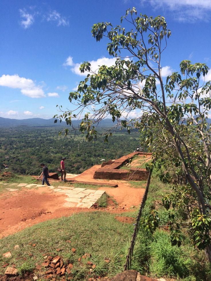 From the top of Sigiria rock, Sri Lanka