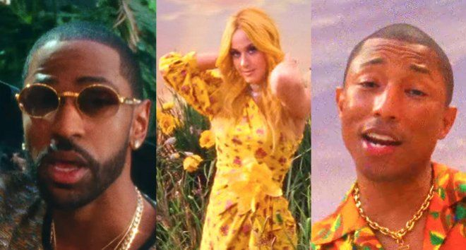 Watch Calvin Harris' Video For 'Feels' With Pharrell Williams, Katy Perry and Big Sean  Summer is reaching new heights