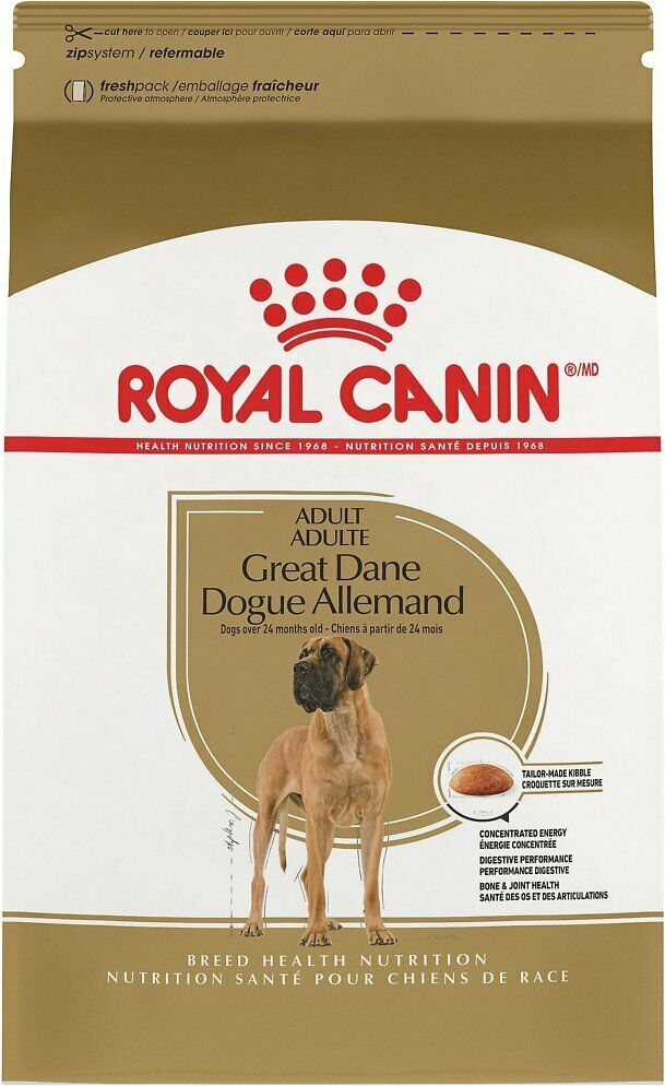Royal Canin Great Dane Adult Dry Dog Food 30 Lb Bag