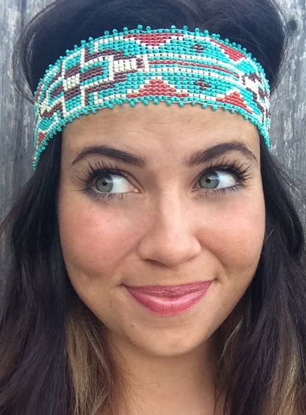 ANOTHER FAVE!! WIDE BEADED HEADBAND.