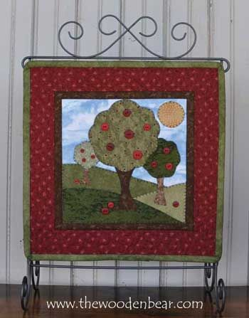 """September- Little Quilts patterns by The Wooden Bear! These are 12"""" x 12"""" and work great on our 12x14 tabletop stands! www.thewoodenbear.com"""