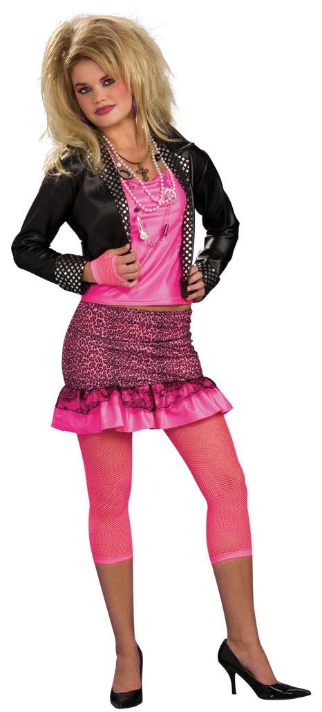 80s costumes 80s groupie womens costume - 80s Rocker Halloween Costume