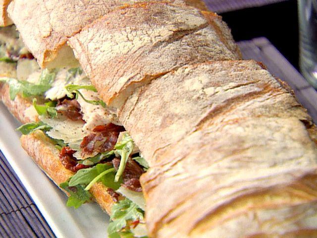 Caesar Club Sandwich Recipe : Ina Garten : Food Network