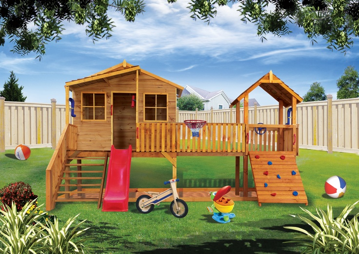 Hand crafted Kids cubby house Made in Australia By Cubbykraft