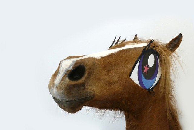 'Cupcake', a life sized My Little Pony — Tinkebell