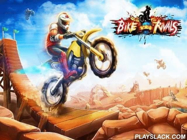 Bike Rivals  Android Game - playslack.com , act in non-stative and deadly tournaments on tough motorcycles. assist your courageous conqueror beat the most arduous tracks. Control a mad biker in this Android game. attempt to flee the risky devices and evade death, rushing on the bottoms of every associate. evade rockfalls and spinning  stones. Jump over lava flows and water hindrances. Fly up into the air with the assist of astonishing boards. Do different ruses like flips, driving  on the…