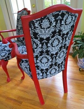Rocking Chair Refurbished With Fabric Google Search My